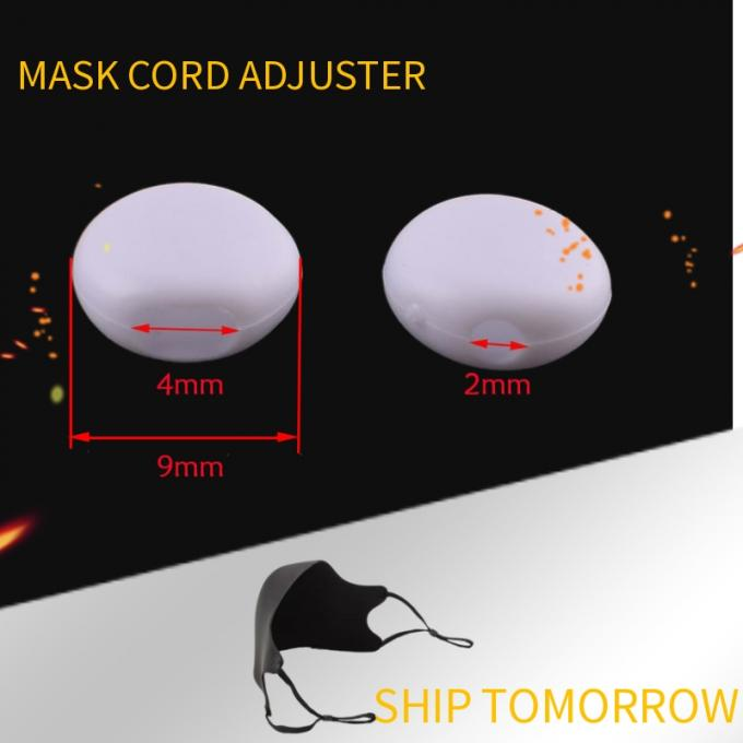WHITE FAST MASK STOPPERS size